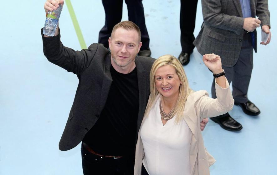 Sinn Féin celebrates 'historic' win in South Down