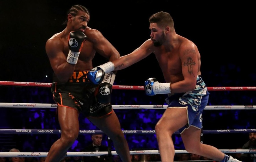 David Haye Vs Tony Bellew Odds