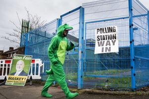 Election gallery: Snaps from around Northern Ireland