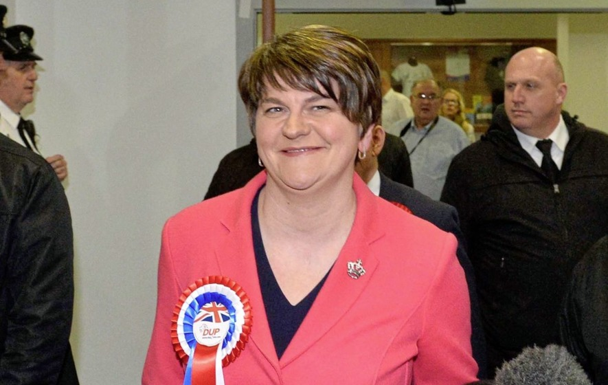 Foster's future in doubt as DUP MP suggests she could step aside