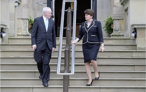 Tributes: Arlene Foster says 'history would record differing views' on Martin McGuinness