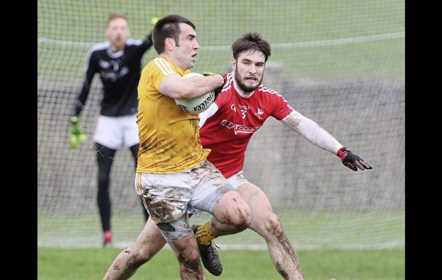 Louth hold off Antrim fightback to maintain 100 per cent record