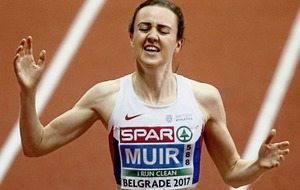Laura Muir lands double gold as Ciara Mageean fails to finish 1500m final