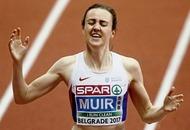 Laura Muir lands double as Ciara Mageean fails to finish 1500m final