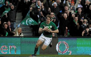 Injured wing Andrew Trimble to miss remainder of Ireland's RBS 6 Nations campaign