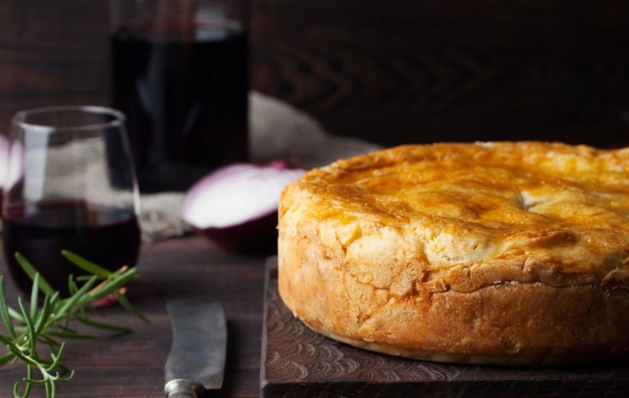 6 of your favourite pies paired with wine because pastry can be classy too