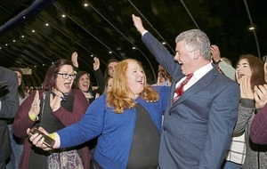 East Belfast: DUP's Robin Newton hangs on as party loses third seat