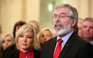 Gerry Adams: May and Brokenshire are part of the problem at Stormont