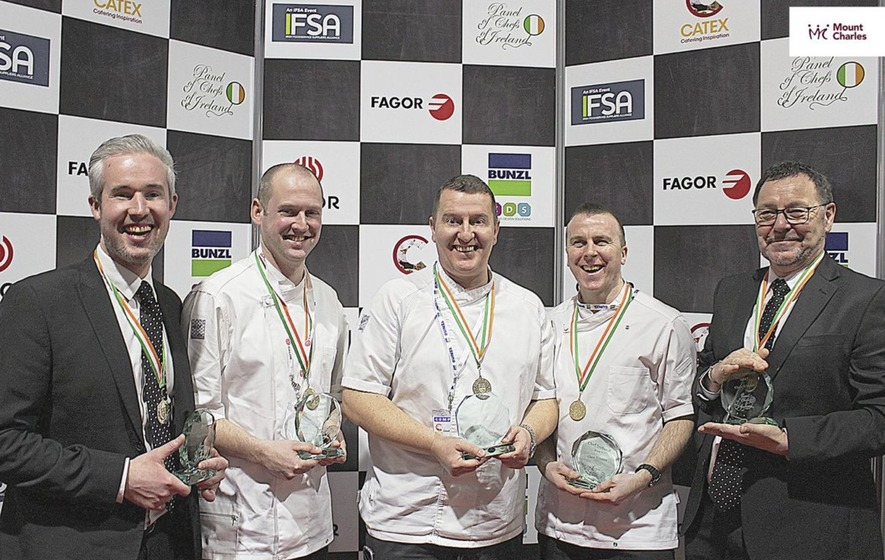 Mount Charles team serves up gold at Chef Ireland competition