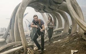 I love shooting action says Tom Hiddleston of Kong: Skull Island