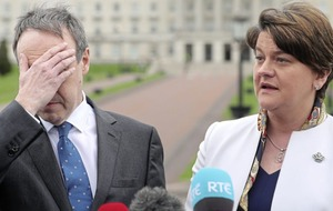 Arlene Foster: 'Delighted with support' from DUP colleagues