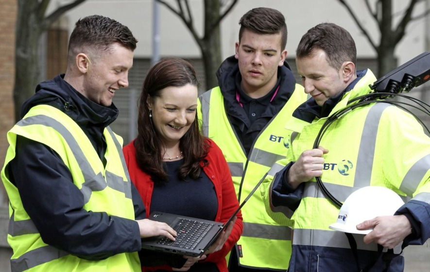 BT to hire 100 apprentices and graduates in Northern Ireland