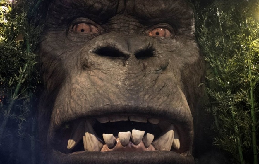Colossal Kong makes roaring entrance at Madame Tussauds London