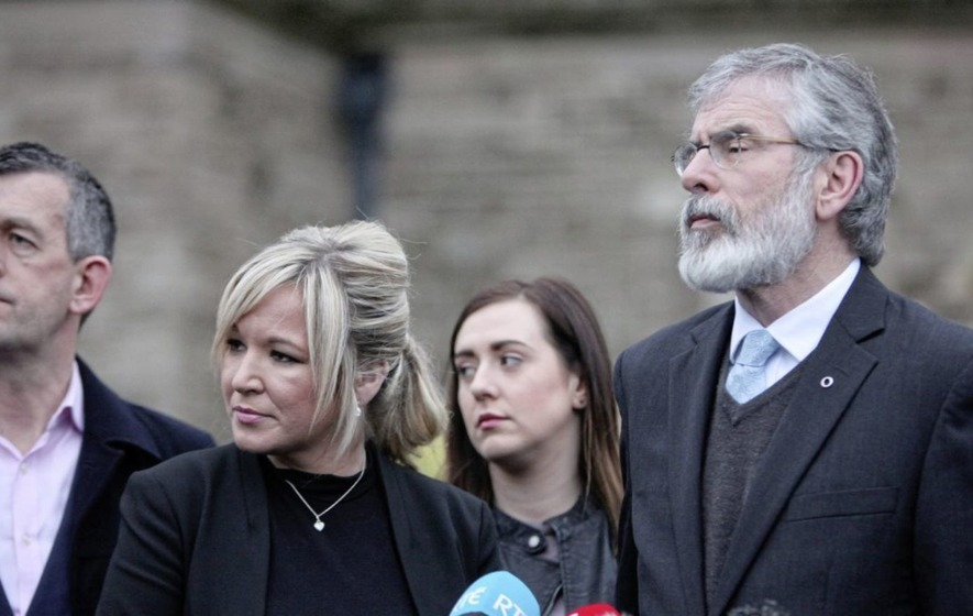 Sinn Féin accuse James Brokenshire of 'waffle, waffle, and more waffle'