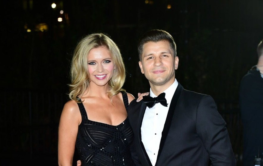 Pasha Kovalev raises girlfriend Rachel Riley's eyebrows during appearance on Countdown