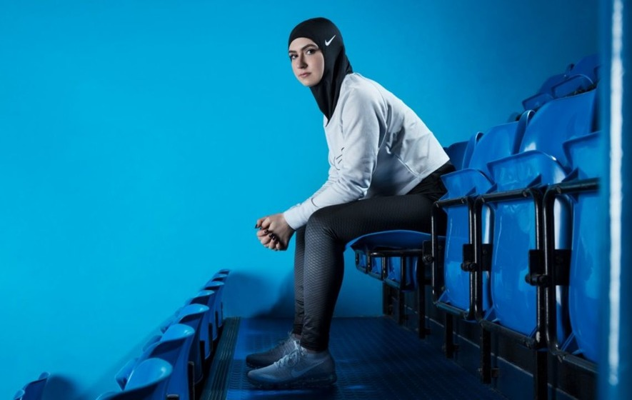 Nike has launched a sporty new hijab for Muslim athletes
