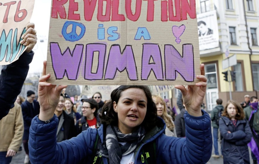 Protests across the world to mark International Women's Day