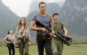 Ape-ocalypse wow: Tom Hiddleston and Samuel L Jackson in Kong: Skull Island