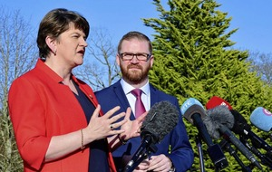 DUP's Arlene Foster: Sinn Féin should not influence other parties on ministers
