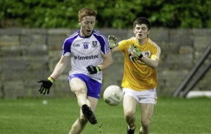 Monaghan edge past dogged Antrim to set up Ulster U21 Championship quarter-final with Derry