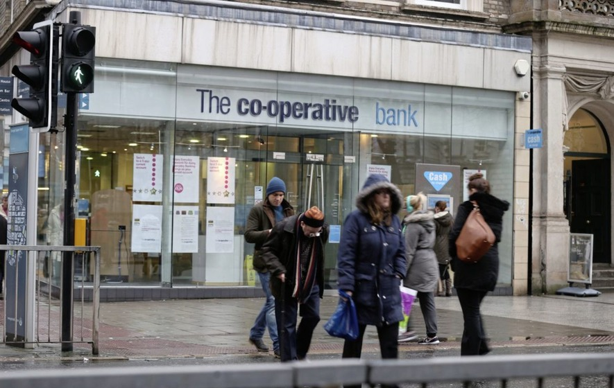 Co-Op Bank Says It May Need to Raise $912 Million of Capital