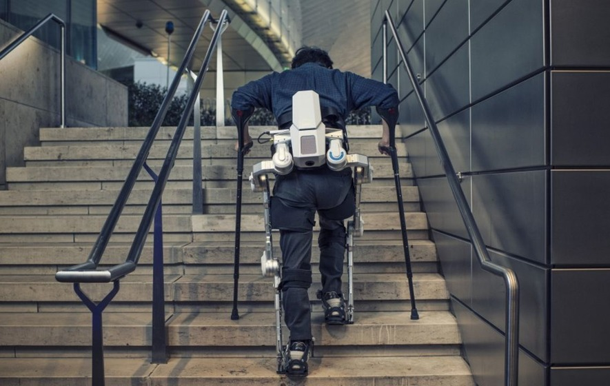 Hyundai's exo-skeletons to give those with mobility issues the chance to walk again