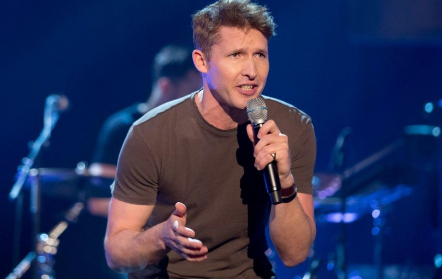 Ed Sheeran's crossing swords with Beatrice 'a fancy story', says James Blunt