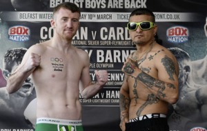 Never mind the crowd-pleasing, Jamie Conlan urged to 'do the business' ahead of Waterfront brawl