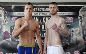 Lewis Crocker determined to prove 'the hype is real' as he prepares to make professional debut at Waterfront Hall
