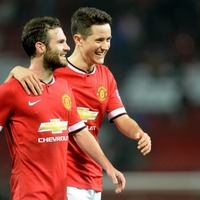 Ander Herrera and Juan Mata did a face swap, and it's doing things to our brain
