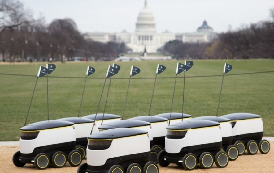 Robots are now delivering takeaways in Washington DC