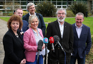 Gerry Adams calls for agreement before Arlene Foster's future is discussed