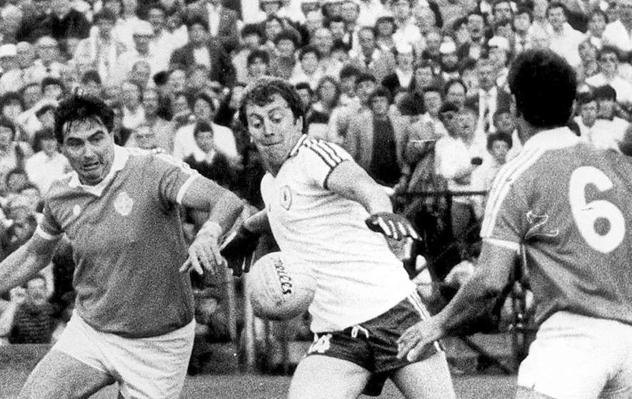 Derry's Jim McKeever and McGuigans of Tyrone honoured by GAA President