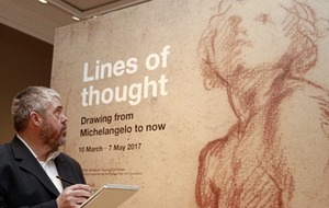 Go see it: Lines of Thought: Drawing from Michelangelo to Now