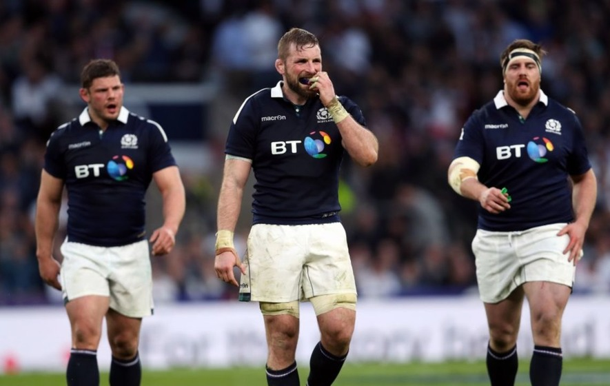 Scottish fans have gone into hiding after England retain the Six Nations title and equal New Zealand's record