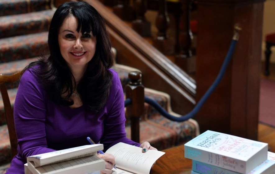 Author Marian Keyes has spoken frankly about her battle with depression.