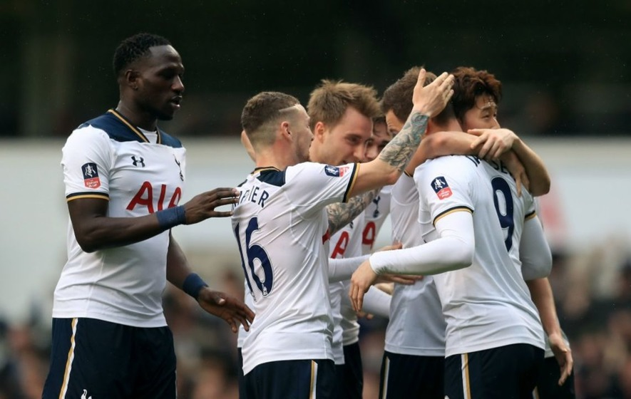 Tottenham beat Millwall 6-0 and Janssen finally scored his first goal in open play