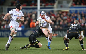 Ulster run in 10 tries to thump Zebre to move into PRO12 play-off positions