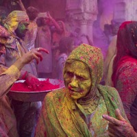 These are all the most colourful pictures from the Holi festival