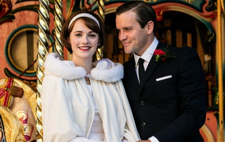 Call The Midwife star 'too scared to eat' while wearing wedding dress
