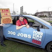 Four Star Pizza announce 300 jobs for the north