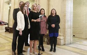 Sinn Féin demand border poll as Brexit trigger looms