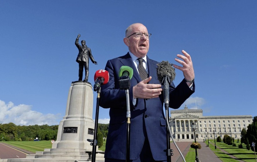 Charlie Flanagan: Parties 'positive' over power-sharing talks