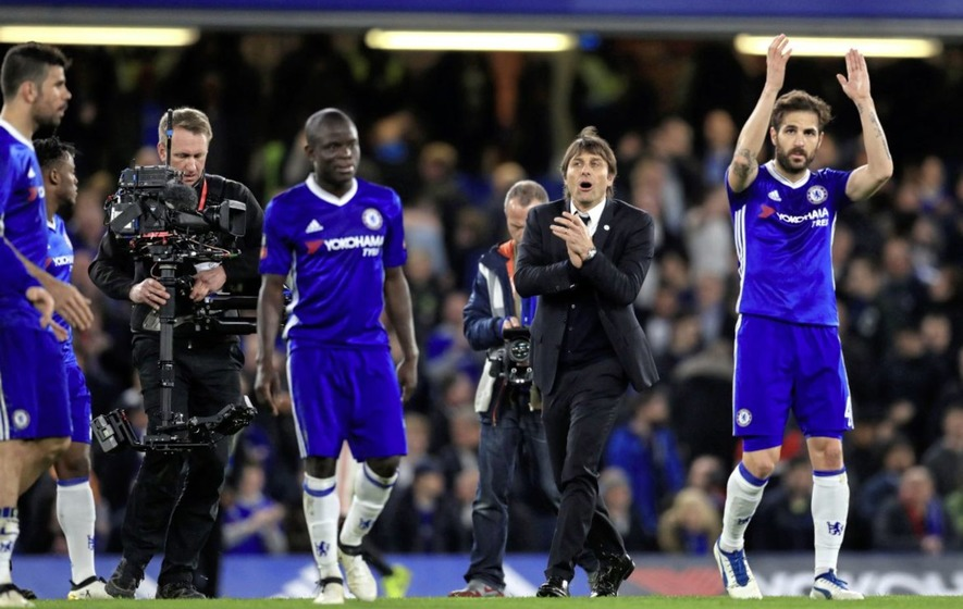 Chelsea boss Antonio Conte: I feared for safety of Eden Hazard in FA Cup win over Manchester United