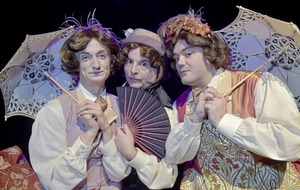 Oscar Wilde's The Importance of Being Earnest gets an all-male musical makeover in Belfast