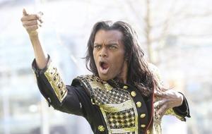 Britt Quentin stars in Michael Jackson Thriller Live show