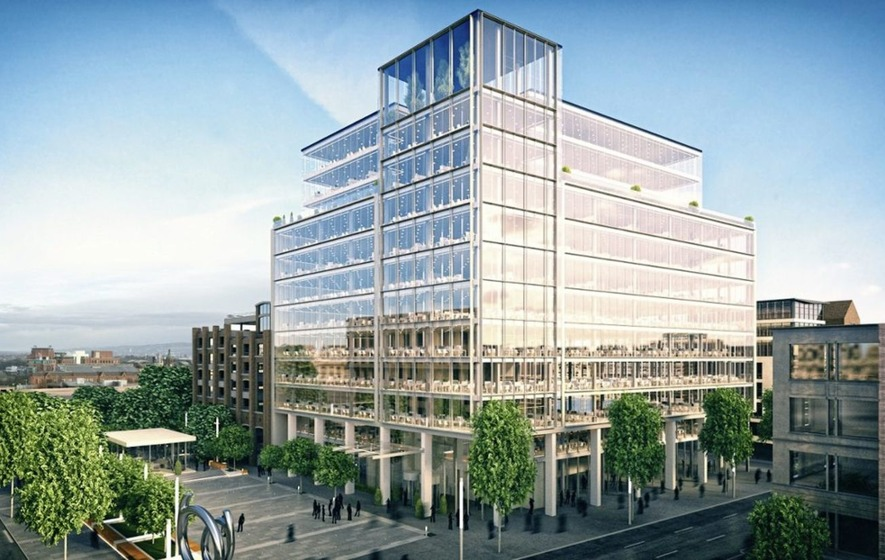 Plans formally submitted for £65m Bankmore Square luxury office scheme