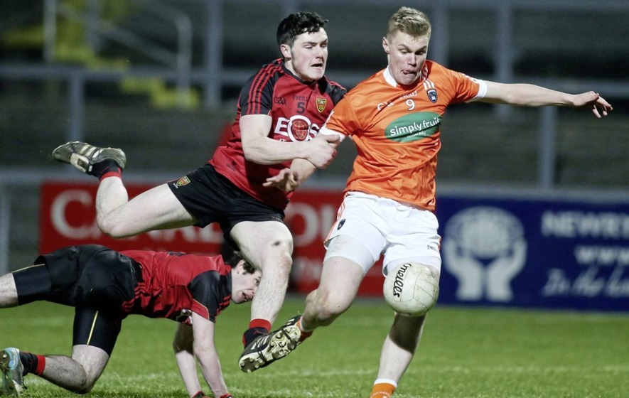 Armagh star Oisin O'Neill out of U21 clash with Down as Neil McManus returns for Antrim hurlers