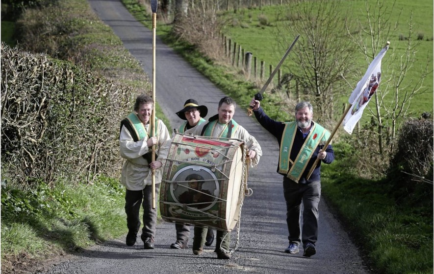 Hibernians to parade with historic Lambeg drum on St Patrick's Day