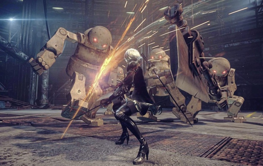 Games: Nier: Automata on PS4 upgrades Japanese role-player